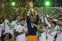 Fotbalisté Wolfsburgu vyhráli poprvé v historii Německý pohár.