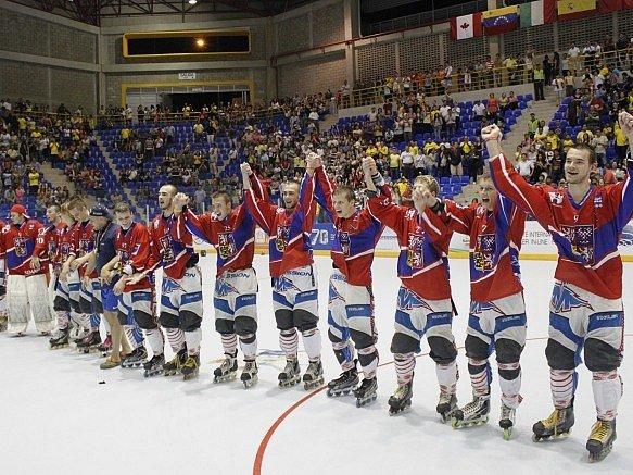 Čeští inline hokejisté na MS v inline hokeji