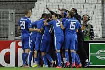 Hráči Liberce odvážejí z Francie cenné tři body.