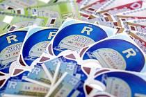 Dálniční známky - Ilustrační foto