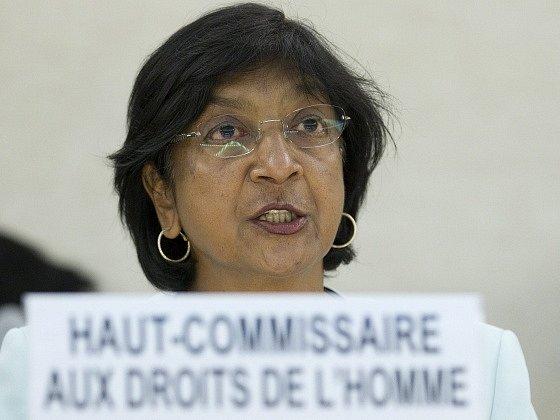 Komisařka OSN pro lidská práva Navi Pillayová