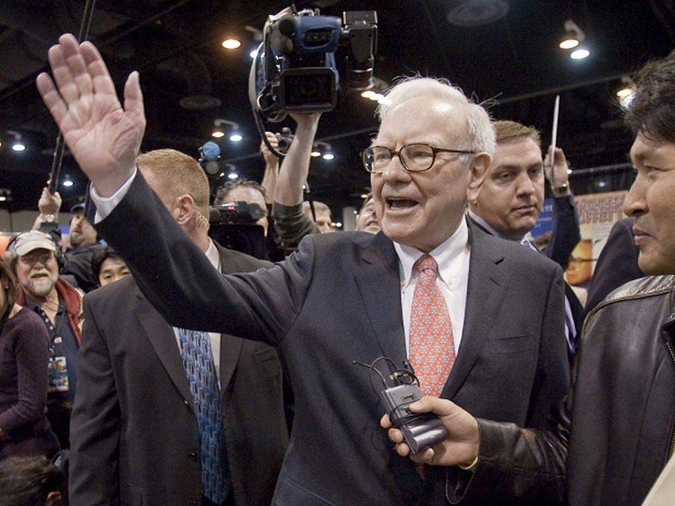Investor Warren Buffet.