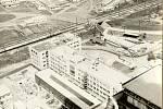 Elektrárna Ledvice - bloky 4,5 ve výstavbě (2. polovina 60. let 20. století)