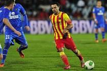 Xavi Hernandez v zápase proti Getafe