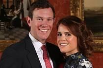Princezna Eugenie a Jack Brooksbank