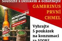 Soutěžte s Deníkem o gambrinus