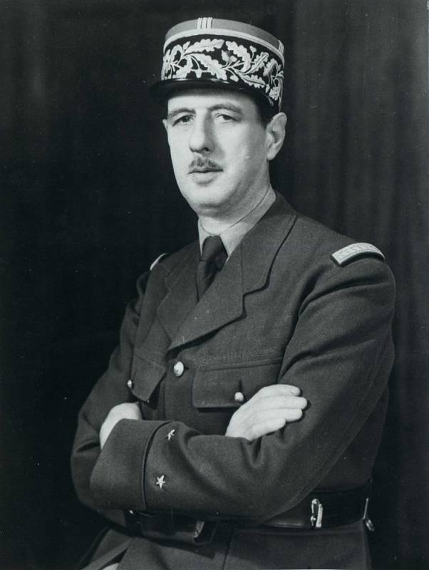 Generál Charles de Gaulle v roce 1945