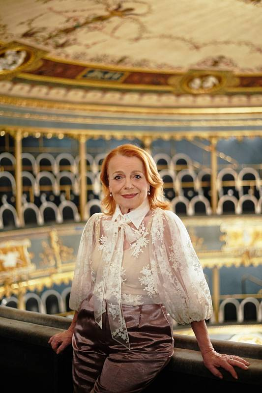 Iva Janžurová obdržela Cenu Alfréda Radoka i Cenu Thálie a je rovněž vyhledávanou filmovou a televizní herečkou