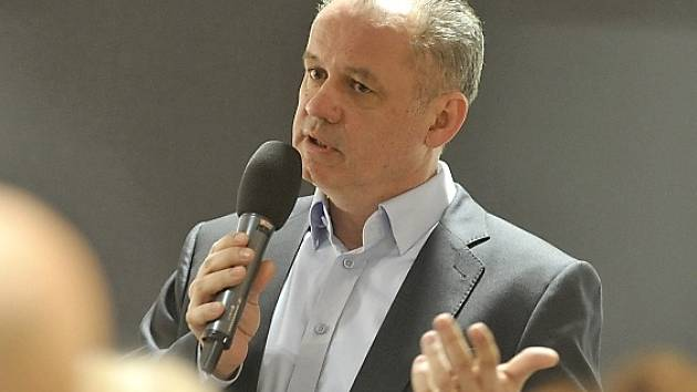Prezidentský kandidát Andrej Kiska.