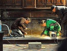 Archeologové zahájili 16. února odpoledne průzkum v kostele sv. Haštala