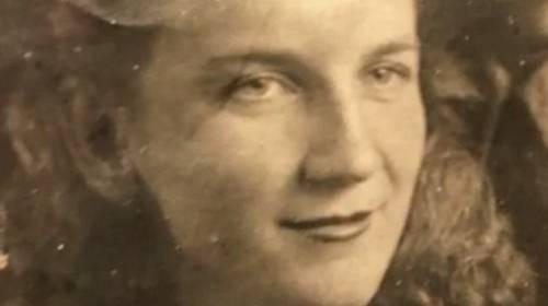 Ljudmila na archivní fotografii