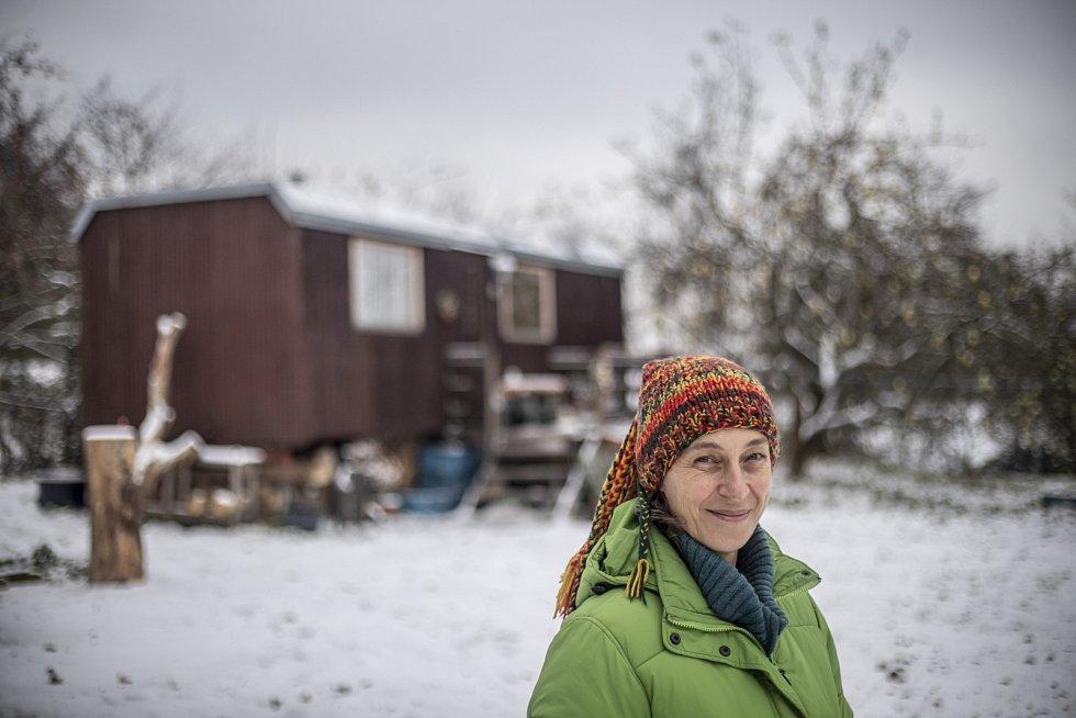 Jolana Šopovová žije v maringotce.