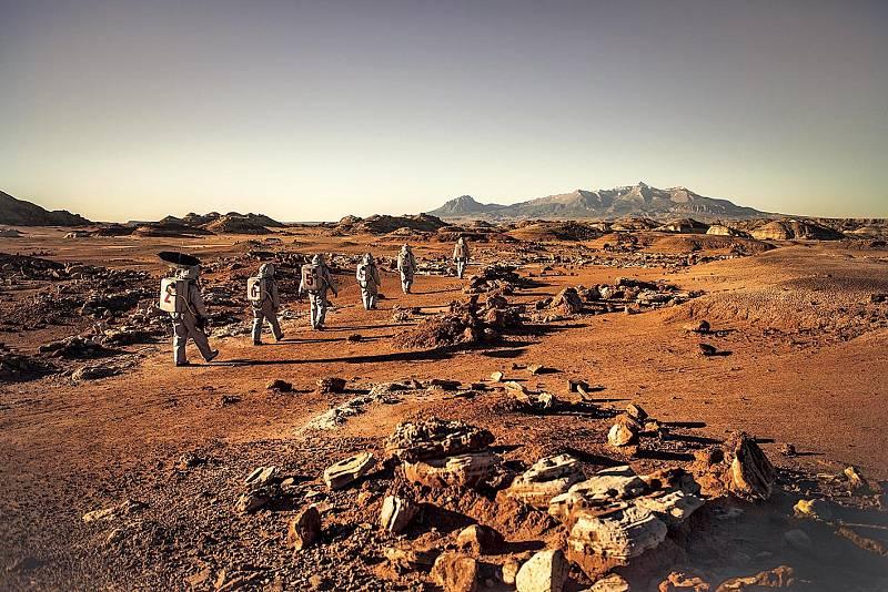 Z filmu Mars