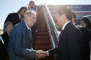 Miloš Zeman na návštěvě Číny