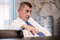 Předseda vlády Andrej Babiš