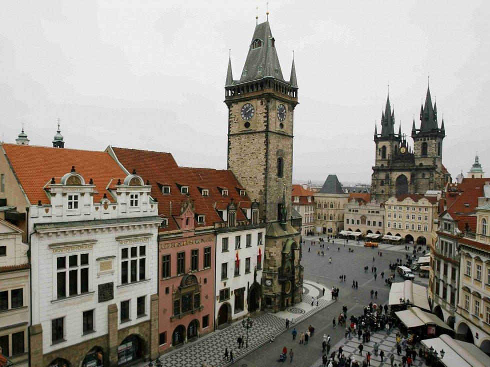 Staroměstská radnice v Praze.