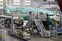 Výroba letadel Boeing - ilustrační foto