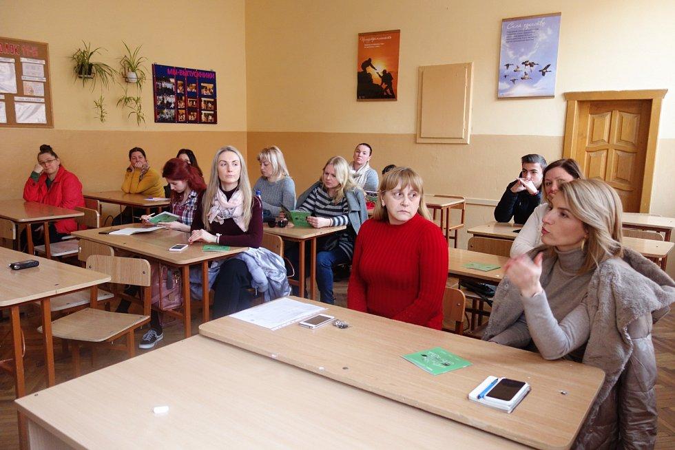 Nábor studentů pro ostravskou technickou univerzitu.