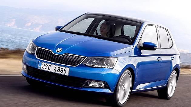 Škoda Fabia třetí generace se poprvé představila v roce 2014.