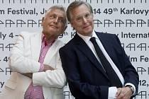 VZÁJEMNÁ POCTA. Jiří Menzel a William Friedkin.