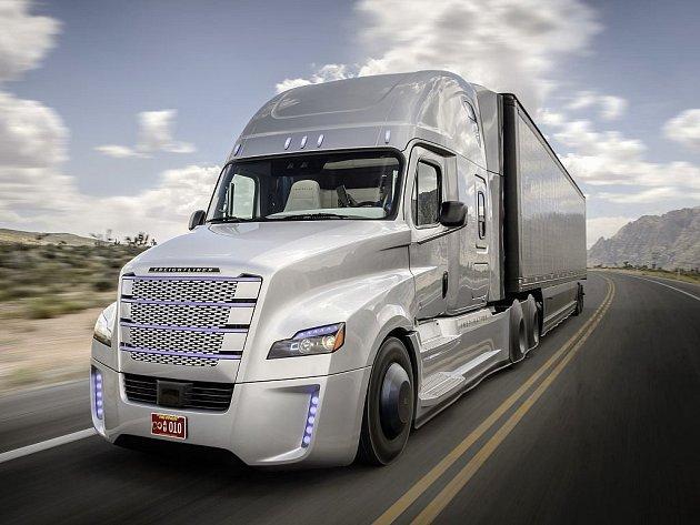 Freightliner Inspiration Truck.