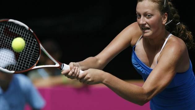 Petra Kvitová překvapivě porazila osmnáctou hráčku světa Šahar Peerovou.