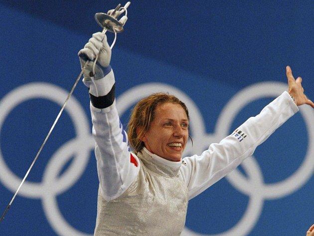 Italka Maria Valentina Vezzaliová vyhrála potřetí za sebou olympiádu.