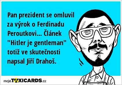 Některé vtipy se trefovaly i do postavy Zemanova mluvčího Jiřího Ovčáčka