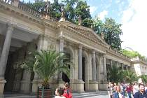 Mlýnská kolonáda v Karlových Varech
