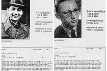 Průkazy popravených studentů