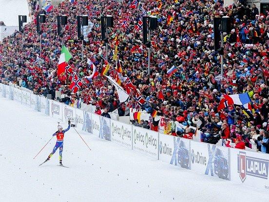 Poslední den na MS v biatlonu: Závod žen s hromadným startem ovládla Marie Dorinová-Habertová