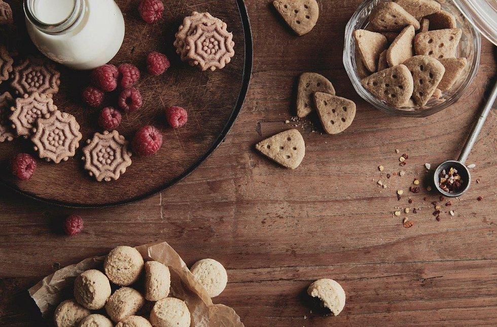 Sladké bio sušenky z Biopekárny Zemanka