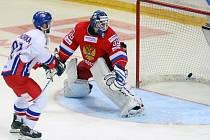 Michal Vondrka se prosazuje proti Rusku.