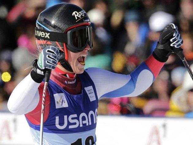 Lara Gutová triumfovala i v superobřím slalomu v Beaver Creeku.