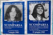 Mirella Gregori  (vlevo) a Emanuela Orlandi (vpravo)