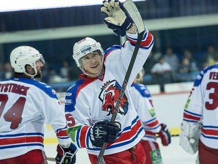Hokejisté Lva Praha měli v Záhřebu důvod k radosti