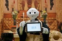 Japonský pohřební robot Pepper