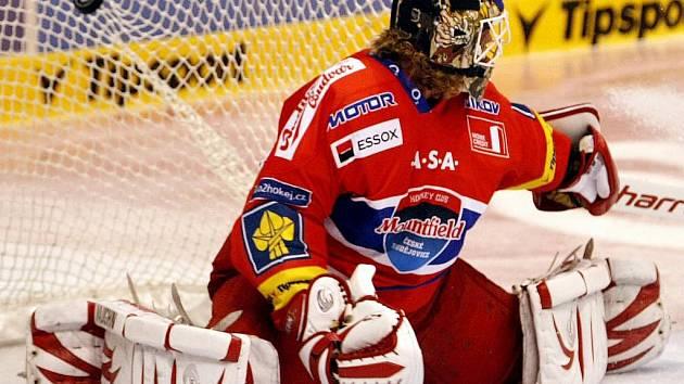 Gólman Budějovic Roman Turek ukončil kariéru.