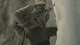 Českoslovenští horolezci ve stěně