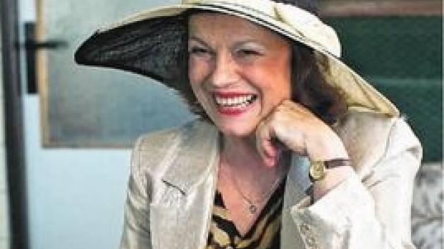 O obsazení Ivy Janžurové do hlavní role měla režisérka okamžitě jasno.
