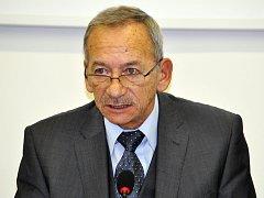 Místopředseda Senátu a primátor Teplic Jaroslav Kubera.