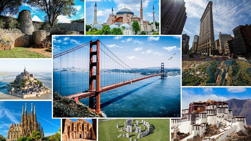 KVÍZ: Jak dobře znáte nejslavnější a ikonické stavby světa?