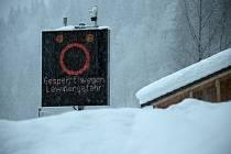 V rakouských Alpách panuje nejvyšší stupeň lavinového nebezpečí