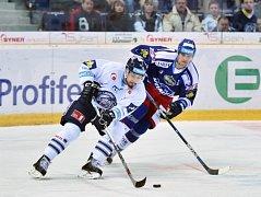 Liberec - Brno: Jakub Valský (vlevo) a Martin Dočekal
