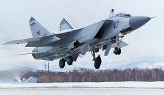 Stíhačka MiG-31. Ilustrační snímek