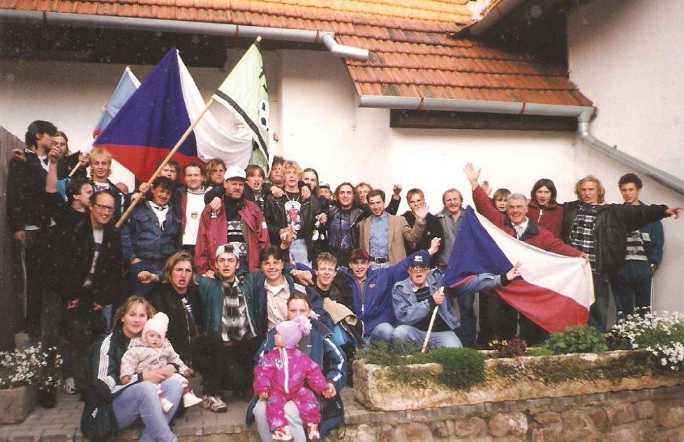 Fotbal a moje rodina. TJ Družstevník Bory.