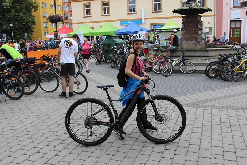 Milovníci cykloturistiky.