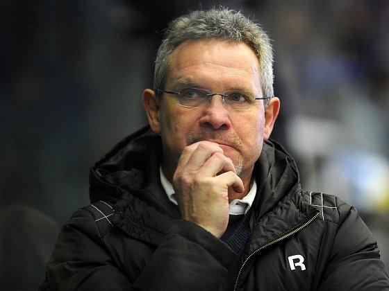 Plzeňský trenér Milan Razým.