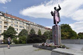 Socha maršála Koněva.