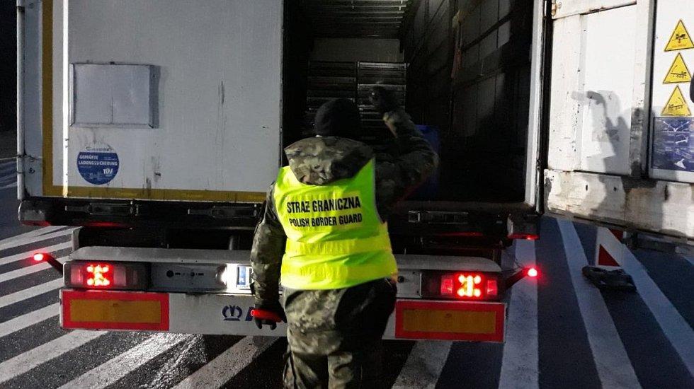 Polská pohraniční stráž